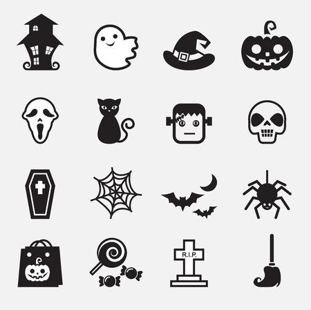 basic candy: Halloween Icons