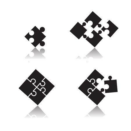 puzzle set Illustration