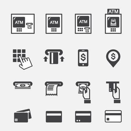 cash machine: atm icon