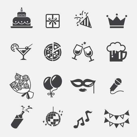 icône du parti Vecteurs
