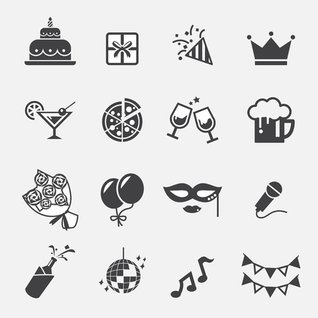partij pictogram Stock Illustratie
