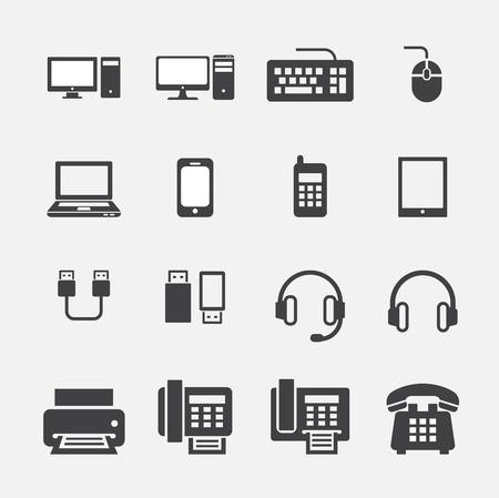 fax: computer icon
