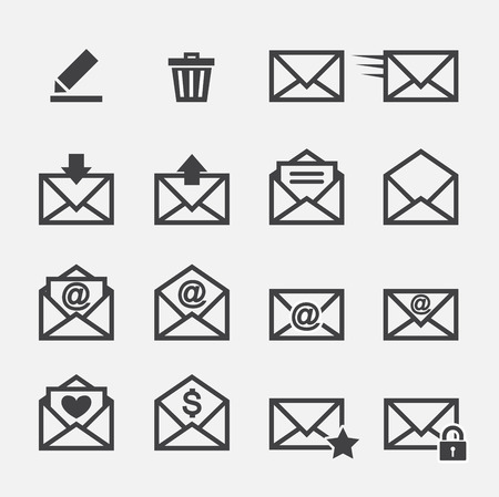 send email: mail icon