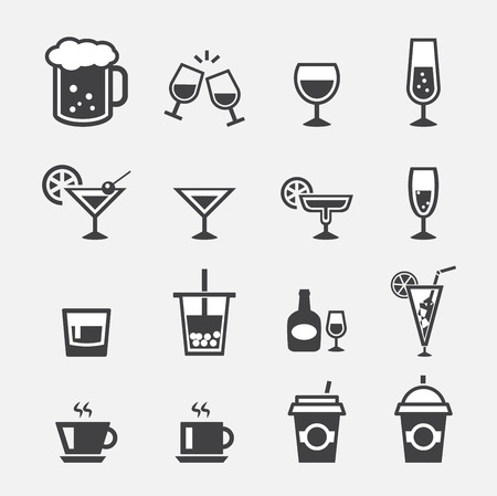 glass water: drink icon