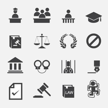 Gesetz Symbol Standard-Bild - 33062797