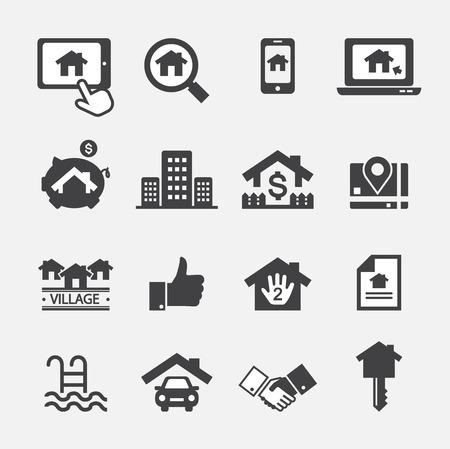 pool symbol: real estate icon