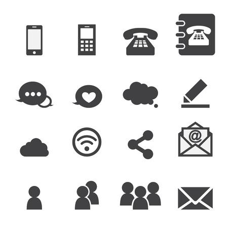Communication web Banque d'images - 33426093