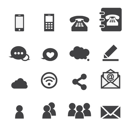 phone button: web communication