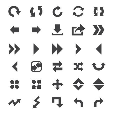 move arrow icon: arrow icon set