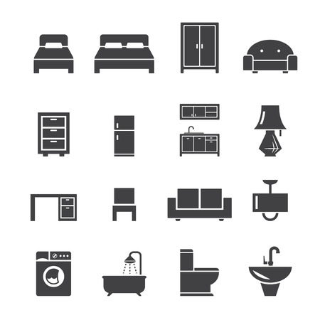 office cabinet: furniture icon