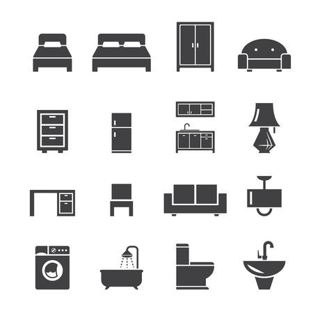 Icona di mobili Archivio Fotografico - 33656154