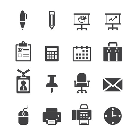 working: office icon