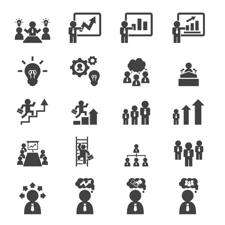 arrow icons: business icon set