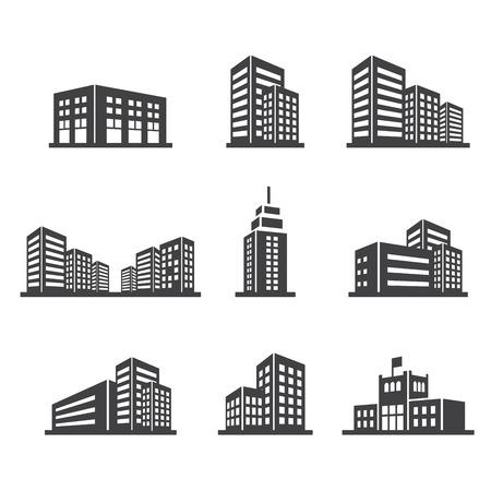 edificios: edificio icono de