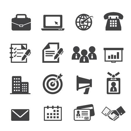 oficinistas: icono del asunto y de la oficina