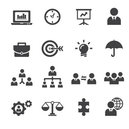 identity management: management icon Illustration
