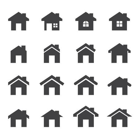 Haus-Symbol Standard-Bild - 34379458