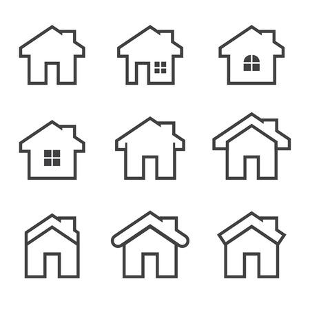 Haus-Symbol Standard-Bild - 39804892