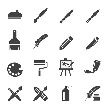interface icon: art icon set