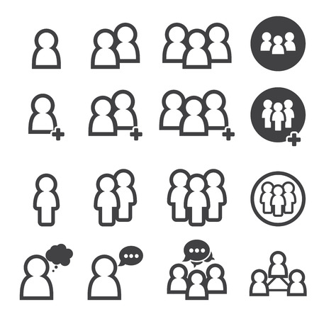 personas hablando: icono de la gente
