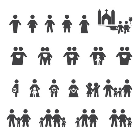 people and family icon
