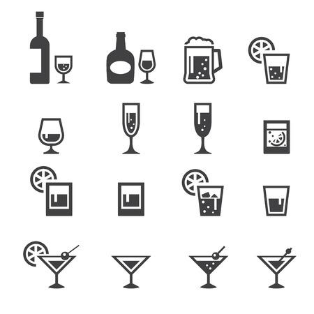 alcohol drink icon Vectores