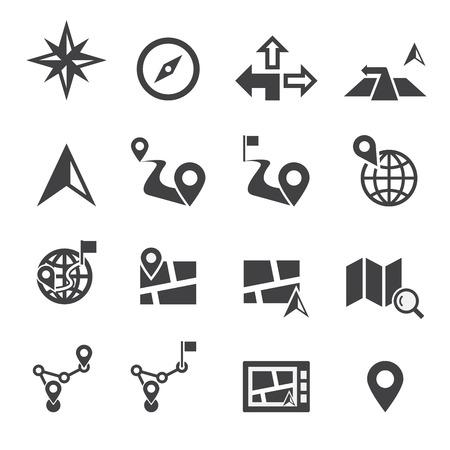 Icône de navigation Banque d'images - 39804901