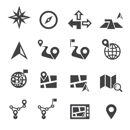 map pointers: Navigation icon