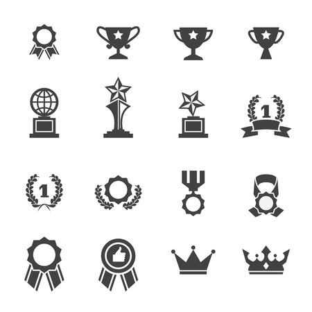 winning first: award icon