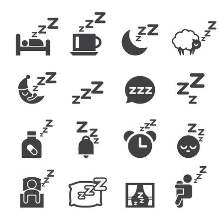 people sleeping: sleeping icon