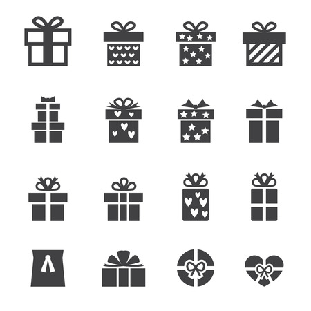holiday icons: gift icon