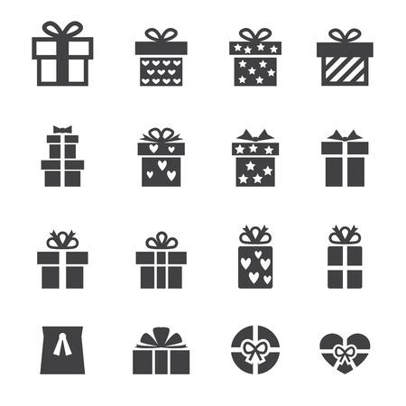 dar un regalo: icono de regalo