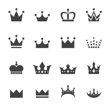 crown icon  イラスト・ベクター素材