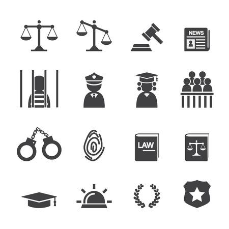 La loi icône Banque d'images - 36142115