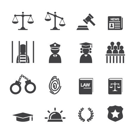 law books: law icon