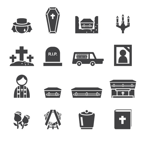 funeral: Funeral icons