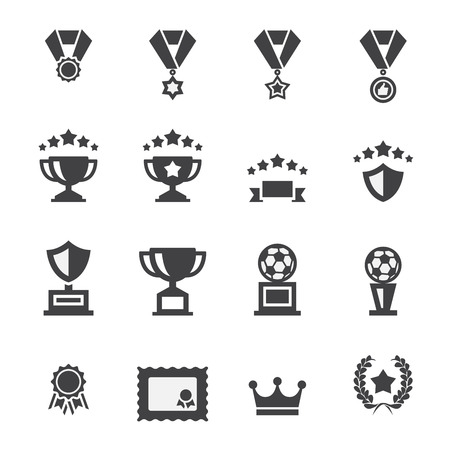 awards: premio conjunto de iconos