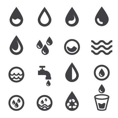 vasos de agua: agua icono
