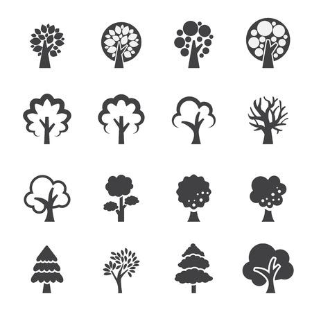 tree icon Reklamní fotografie - 37040996