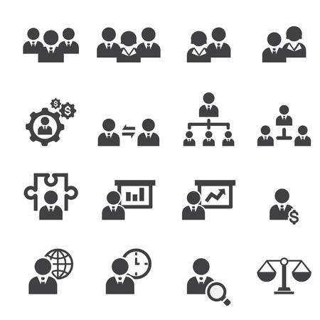 group goals: management icon set
