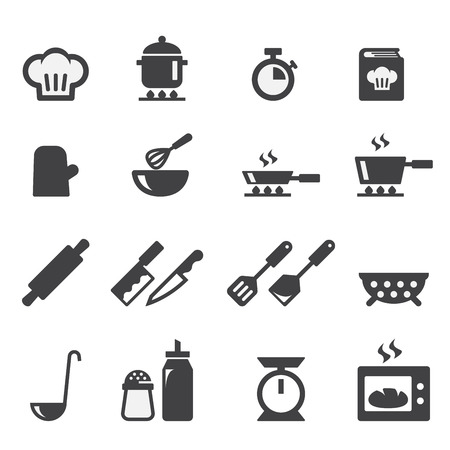 measuring spoon: cooking icon