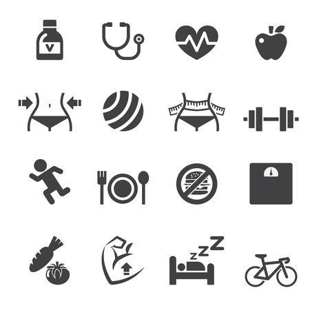 no correr: icono saludable