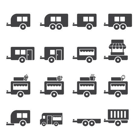 coupling: trailer icon