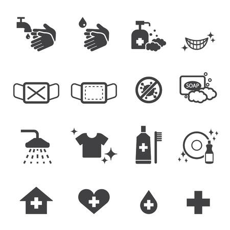 higieny zestaw ikon