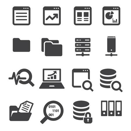 data icon set