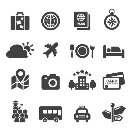 tourismus icon: Tourismus-Symbol