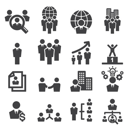 business icons: human resources icon