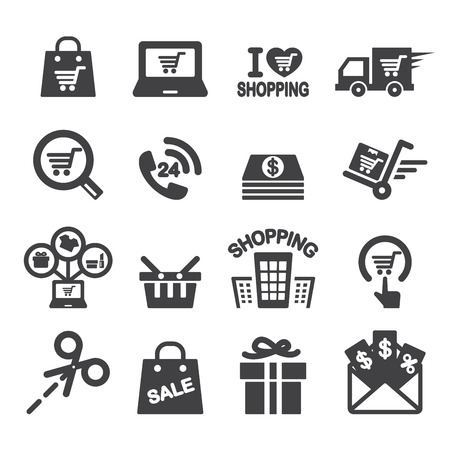 shopping bag icon: shopping icon