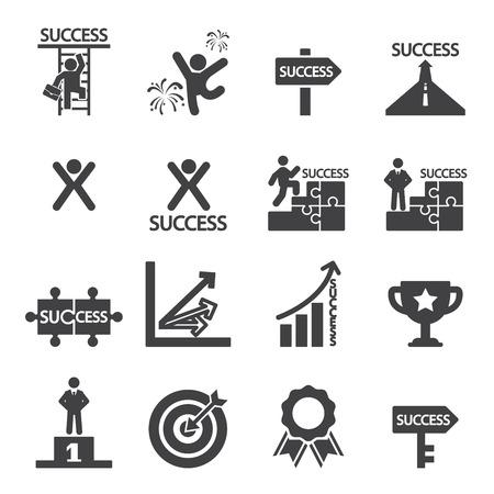 success icon set Vectores