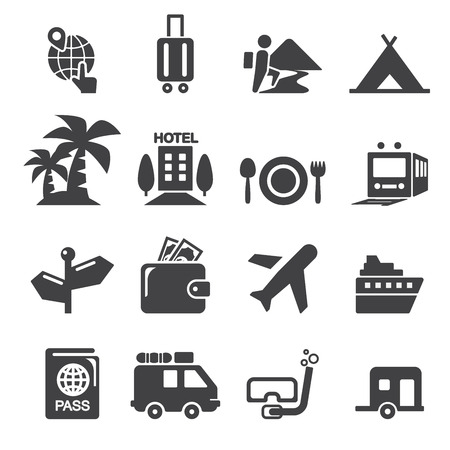 travel icon Stock Vector - 41198603